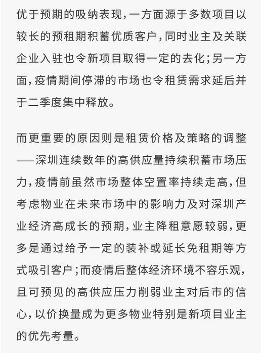 戴德梁行:第二季度深圳写字楼空置率为 25.43% 环比增 0.84%