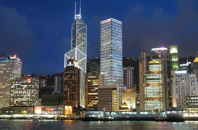10月份香港整体写字楼租金持续下跌